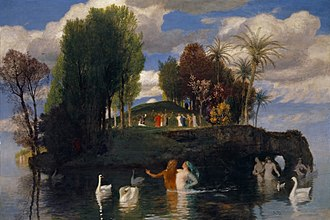 Arnold Böcklin - The Island of Life (Die Lebensinsel), 1888