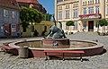 Bützow Am Markt Brunnen.jpg