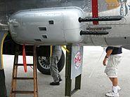 B-25 Mitchell 50-calibre machine gun blister mounts