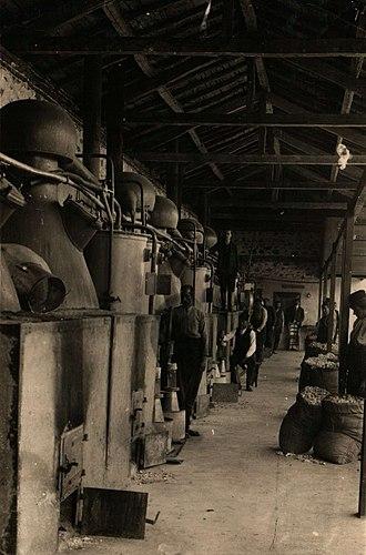 Rose oil - Rose oil factory in Bulgaria