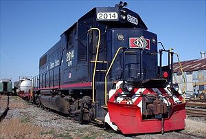 Bay Coast Railroad - LLPX 2014 is leased to Bay Coast Railroad at the ferry terminal in Little Creek, Virginia.