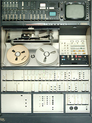 Quadruplex videotape - BOSCH Quad VTR Model BCM 40