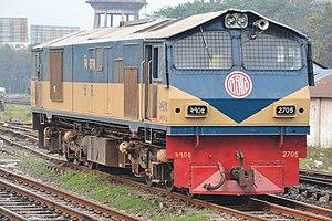 Bangladesh Railway Class 2700 - 2705 at Dhaka Rail Station