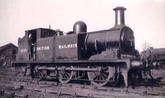 LB&SCR E1 class - E1 No. 2133 in early British Railways livery, before renumbering - circa 1949.