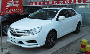 BYD F3 - Image: BYD Surui facelift China 2015 04 13