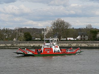 Jumièges - The river ferry
