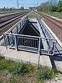 Bahnhof, Brückengeländer, 2021 Kápolnásnyék.jpg
