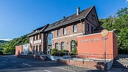 Bahnhof Heimbach mit dem Nationalpark Tor Heimbach 9867