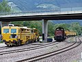 Bahnhof Sponding Gleisbauzüge.jpg