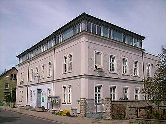 Königswartha - Image: Bahnhofstraße 4 Königswartha