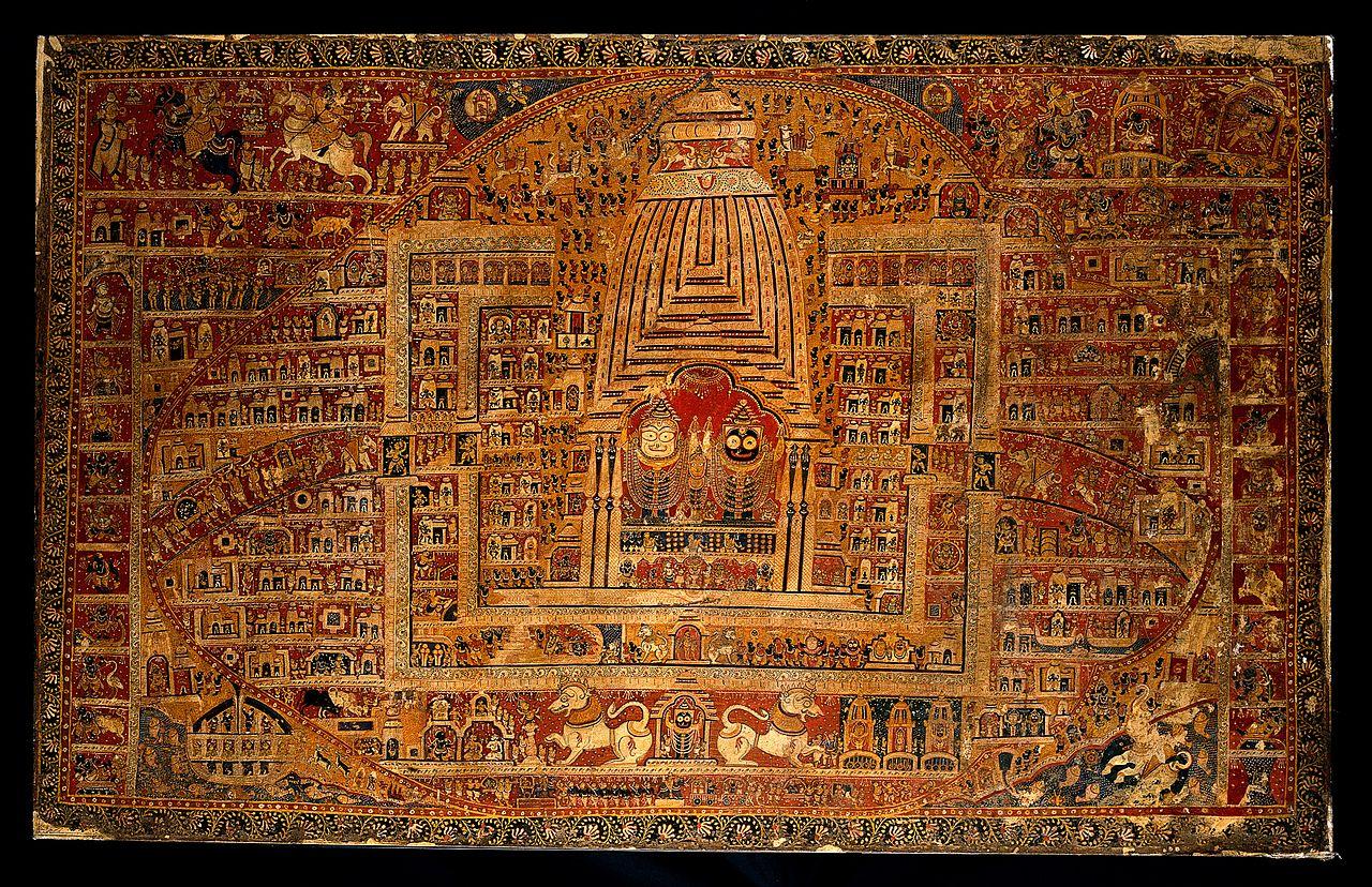 File Balarama Subhadra And Jagannath In The Temple At