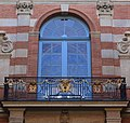 Balcony salle des illustres on Cour Henri IV.jpg