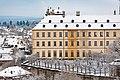 Bamberg, Neue Residenz mit Rosengarten, Ansicht vom Kloster Michelsberg 20170102-003.jpg