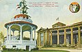 Band Stand with Forestry Building in background, Alaska-Yukon-Pacific-Exposition, Seattle, Washington, 1909 (AYP 944).jpg