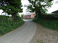 Barn and road - geograph.org.uk - 417721.jpg