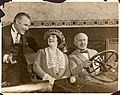 Barney Bernard, Alexander Carr, and Mabel Carruthers in the stage production Partners Again.jpg