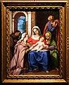 Bartolomeo cesi, sacra famiglia coi ss. francesco, elisabetta e caterina, su rame.jpg