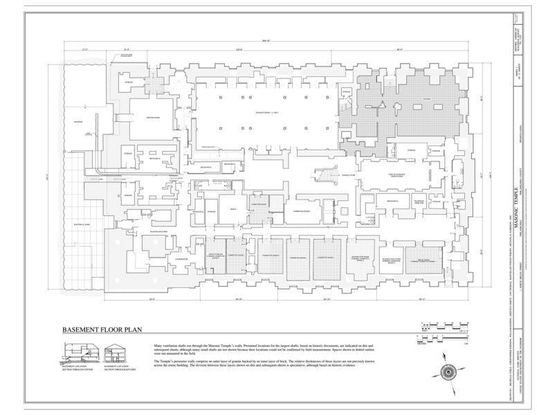 File:basement_floor_plan_ _masonic_temple,_1_north_broad_street,_philadelphia,_philadelphia_county,_pa_habs_pa,51 Phila,742 _(sheet_2_of_12) on Grand Masonic Lodge Floor Plan