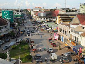 Road No. 3 near the central market