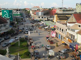 City in Cambodia