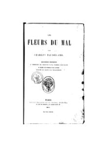 (PDF) Charles Baudelaire, Les Fleurs du Mal – Die Blumen ...