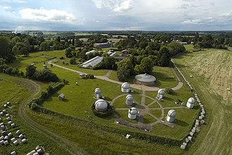 Bayfordbury Observatory - Image: Bayfordbury campus (27115264794)