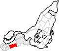 Beaconsfield Quebec location diagram.PNG