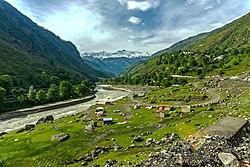 Kaghan is a popular tourist destination because of its dramatic mountain scenery