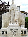 Beauville - Monument aux morts -1.JPG