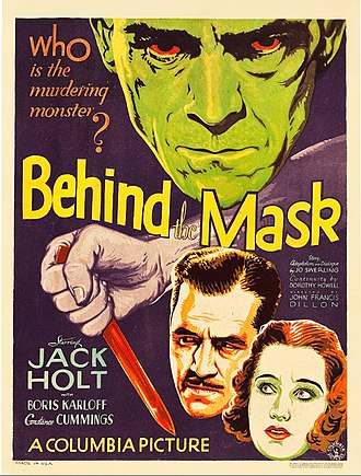 Behind the Mask (1932 film) - Film poster