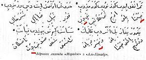 Belarusian Arabic alphabet - Kitab