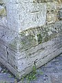 Benchmark on buttress of St Mary's Church - geograph.org.uk - 2130567.jpg