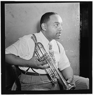 English: Portrait of Benny Carter, Apollo Thea...