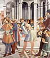 Benozzo Gozzoli - The School of Tagaste (detail) - WGA10286.jpg