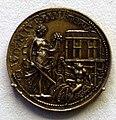 Benvenuto cellini, medaglia di papa clemente VII, retro con allegoria della pace, 1534.jpg