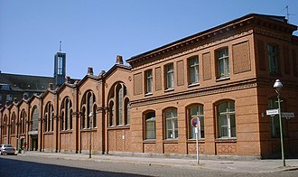 Moabit - Moabit's Markthalle X, one of the few remaining market halls in Berlin, was erected in 1891.