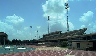 LSU Tigers track and field - Bernie Moore Track Stadium
