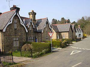 Bersham - Image: Bersham cottages