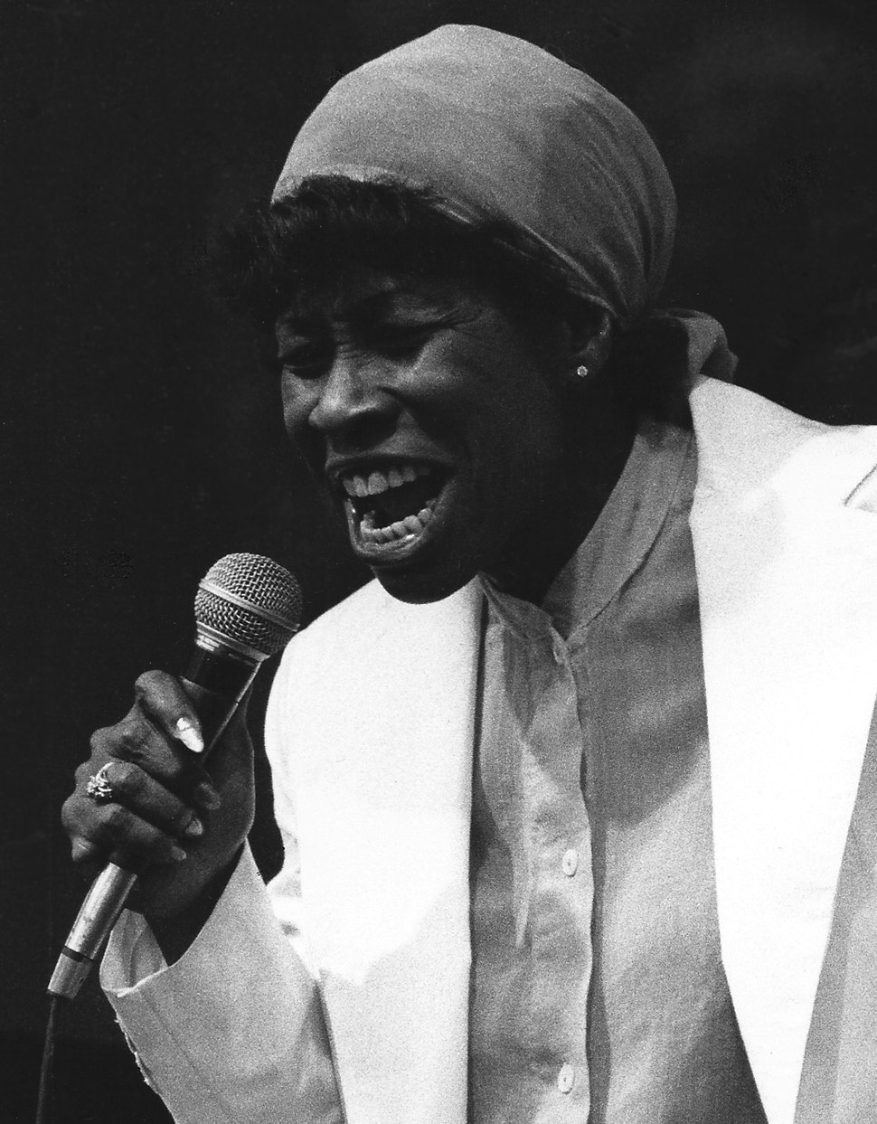 Betty Carter in Pori July 1978