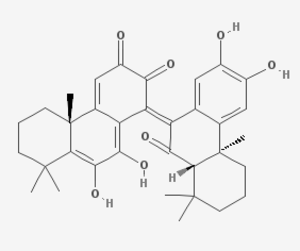 Bicelaphanol A - Image: Bicelaphanol A