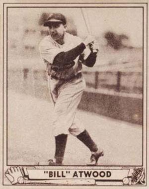 Bill Atwood - Image: Bill Atwood 1940