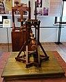 Binda a doppia vite di Leonardo da Vinci in una mostra su Leonardo da Vinci al Mulino di Mora Bassa - Morabassa.jpg