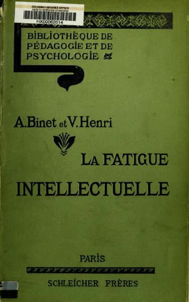 Fichier:Binet - Henri - La fatigue intellectuelle.djvu
