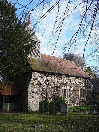 Bisley, Surrey - Image: Bisley Parish Church geograph.org.uk 1598144