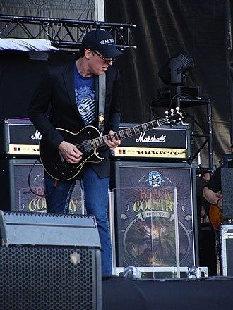 Black Country Communion - Glenn Hughes and Joe Bonamassa formed Black Country Communion in November 2009.