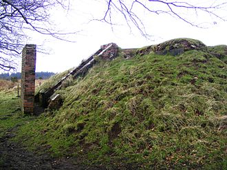 Black Down, Somerset - World War II bunker