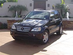 2002 Mercedes-Benz ML55 AMG