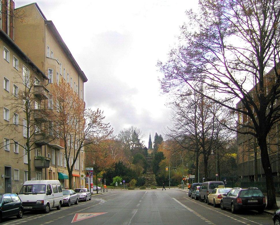 Blick auf Kreuzberg aus Großbeerenstraße, 2007