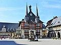 Blick auf das Rathaus Wernigerode.JPG