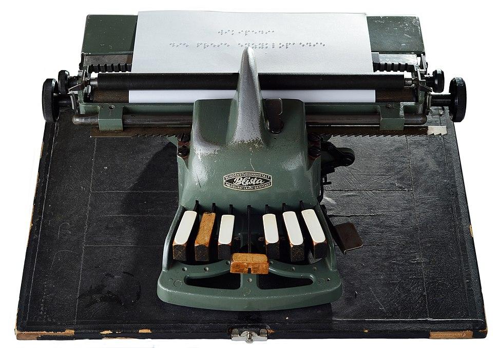 Blista-Braille-Typewriter